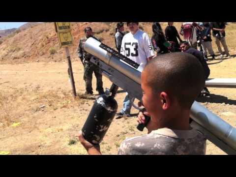 Paintball Bazooka accident BCMC
