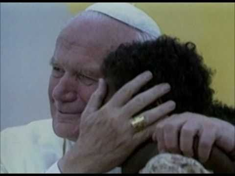 Blessed John Paul II and children
