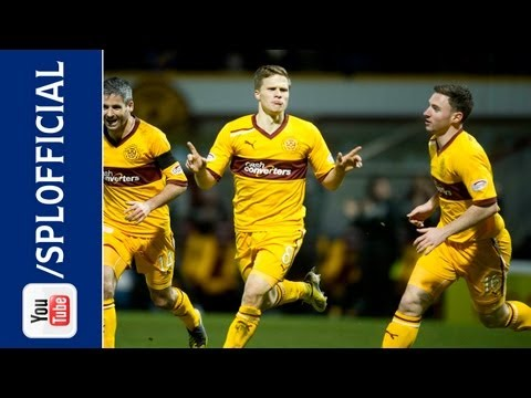 Estonian hitman Henrik Ojamaa cuts in from the wing, beats three defenders and curls a majestic strike past Cammy Bell to equalise for Motherwell against Kilmarnock during the 2-2 draw at Fir...