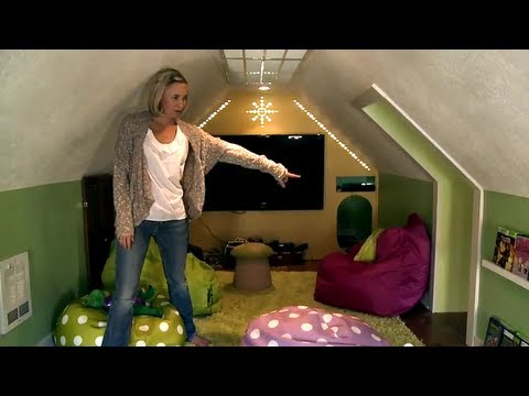 Space saving ideas hip2save house tour youtube for Home space saving ideas
