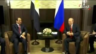 بوتين يستأنف المحادثات مع السيسي ويصف مصر بالشريك الموثوق