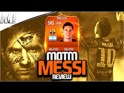 FIFA 15 MOTM MESSI REVIEW (96) FIFA 15 Ultimate Team Player Review + In Game Stats