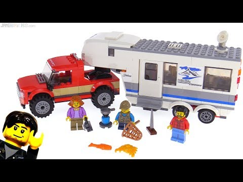 LEGO City 2018 Pickup & Caravan review! set 60182