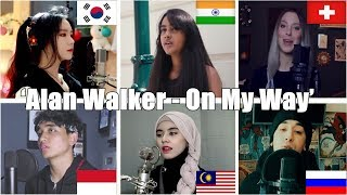 Download Song Who Sang It Better: On My Way (India, Indonesia, Malaysia, South Korea, Russia, Switzerland) Free StafaMp3
