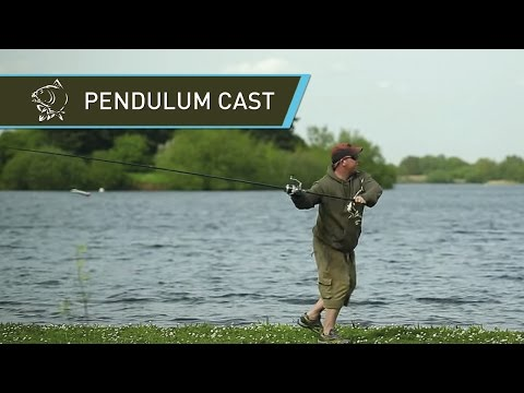Carp Fishing Terry Edmonds Pendulum Cast raw footage - Nash Tackle