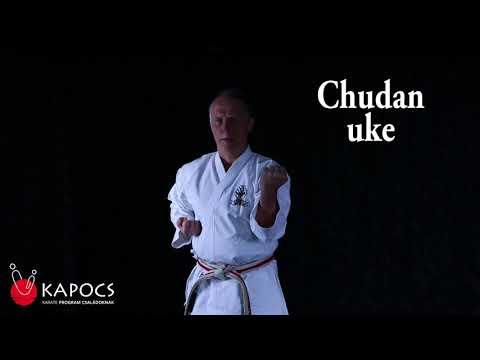 Karate Goju-ryu - Chudan uke - Kapocs Sportprogram