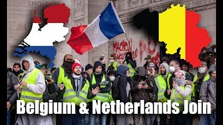 Belgium & Netherlands Join Yellow Vest Protests: Macron To Address France Riots!