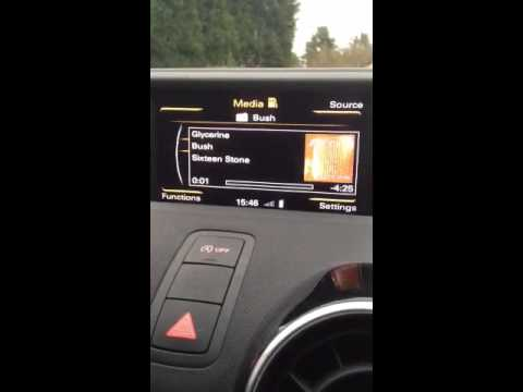 Audi A1 Missing Album Art Problem Solved How To Save Money And Do It Yourself