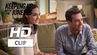 """Keeping Up With The Joneses   """"Your Wife""""   Official HD Clip 2016"""