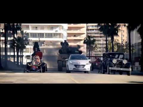 Peugeot 208 contra los Autos Locos