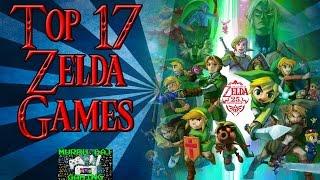 TOP 17 ZELDA GAMES