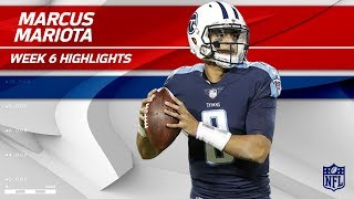 Marcus Mariota Returns to Action w/ 306 Yards & 1 TD! | Colts vs. Titans | Wk 6 Player Highlights