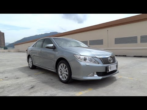 2012 Toyota Camry 2.5V (XV50) Start-Up and Full Vehicle Tour