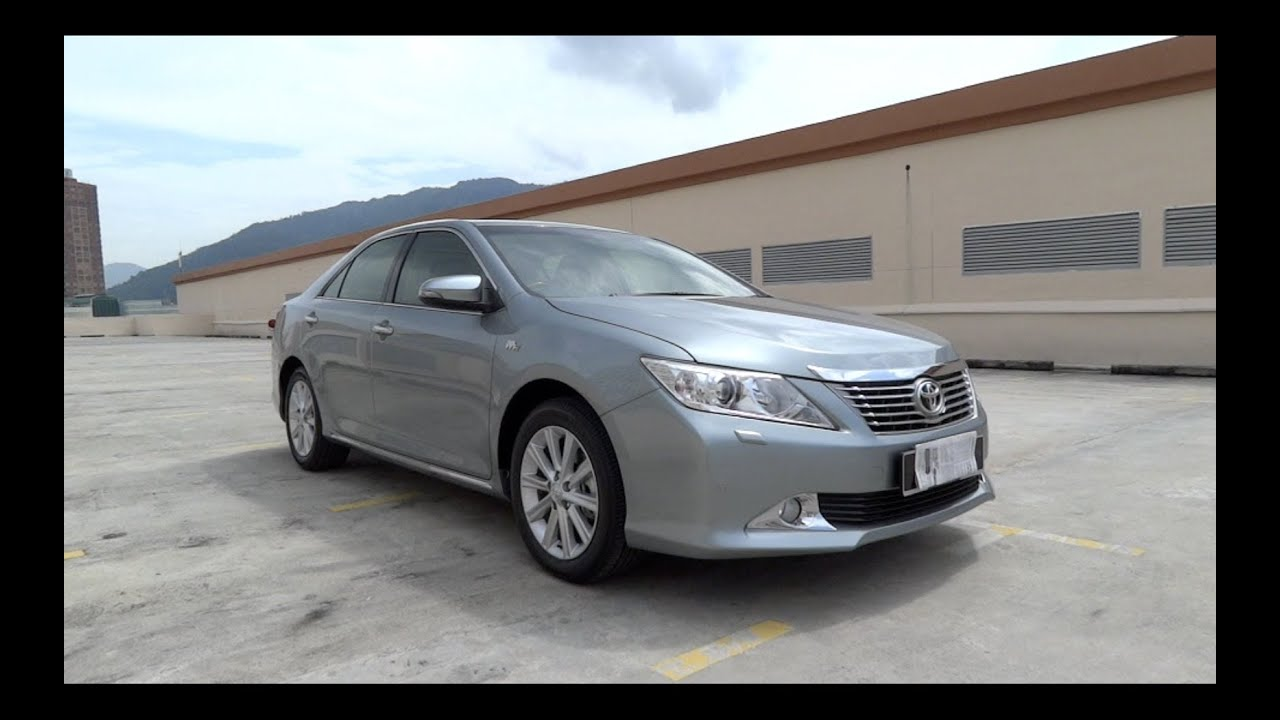 2012 toyota camry 2 5v xv50 start up and full vehicle tour youtube. Black Bedroom Furniture Sets. Home Design Ideas