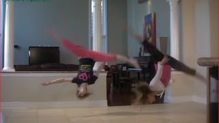Aerial Tutorial - How to do an Aerial - Cartwheel to Aerials