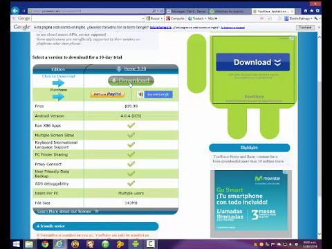 YouWave Android 3.20 Full Ultima Version 2014