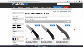 National Knife Day SALE! BladeHQ Website Shopping