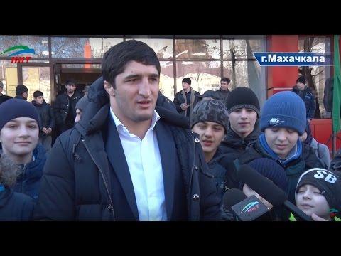 Спортшкола имени Абдулрашида Садулаева открыта в Махачкале