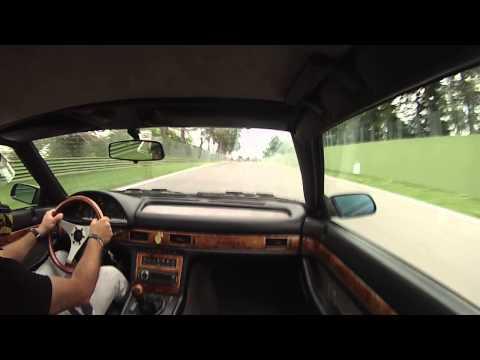 Maserati Ghibli test Imola