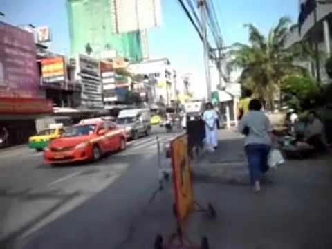 On Nut and Soi 77 , Sukhumvit Road, Bangkok, Thailand.