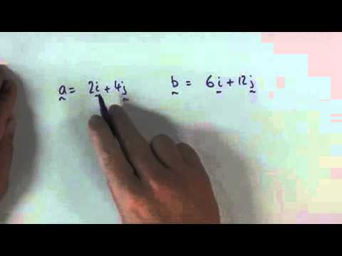 Vectors parallel orthogonal or neither