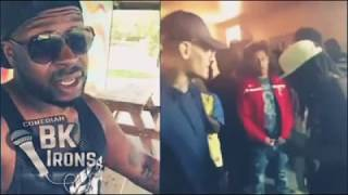 When Battle Rap In LIMA OHIO Gone Wrong! (Bk Irons Edition)