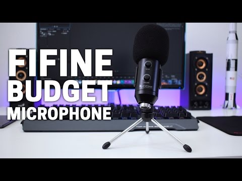FIFINE USB stereo microphone | Budget