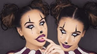Creepy Clown Girl | Halloween Makeup Tutorial