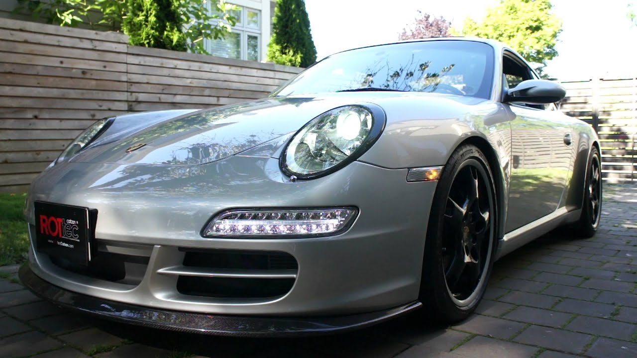 Porsche 997 1 Led Front Drl Rottec Youtube