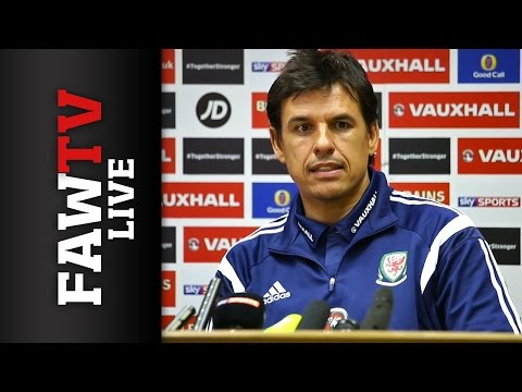 Wales V Cyprus Press Conference LIVE Chris Coleman