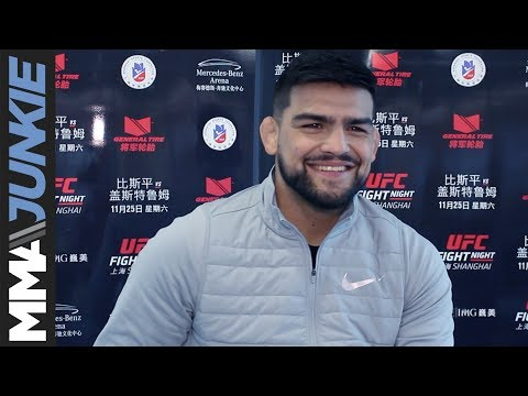 Kelvin Gastelum full pre-fight interview at UFC-Shanghai