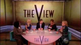 Michael Buble Video - Michael Buble' interview on The View 9/9/13