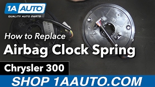 How to Replace Install Airbag Clock Spring 06 Chrysler 300