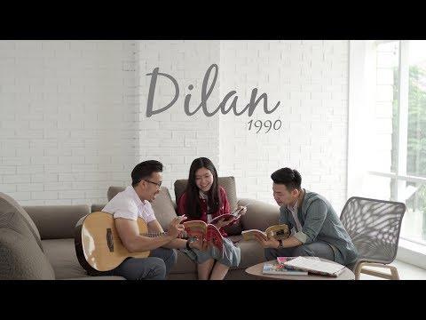 OST Dilan 1990   Dulu Kita Masih SMA  eclat acoustic cover ft Brigitta Tifanny