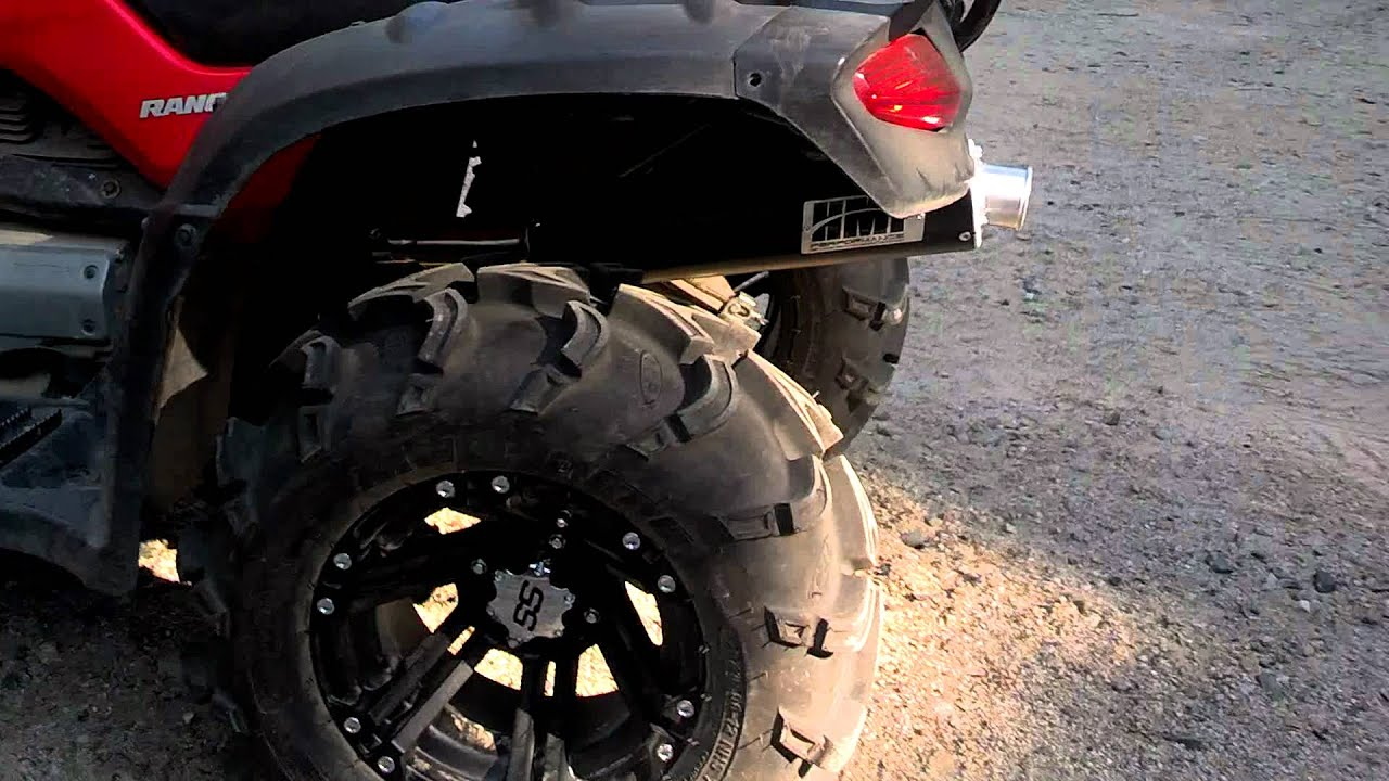 Pin Honda Rancher 420 Fi 4x4 Es Power Steering 14 Itp Rims