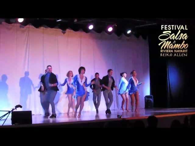 Los Anormales Semi-Pro (L.A.) - Riviera Nayarit Salsa & Mambo Festival 2013