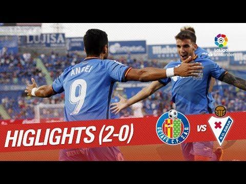 Resumen de Getafe CF vs SD Eibar (2-0)