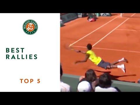 Top 5 moments in Roland Garros - Best rallies