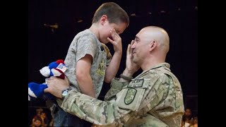 SOLDIERS COMING HOME | Most Emotional Surprise Compilation at Basketball Game | RESPECT
