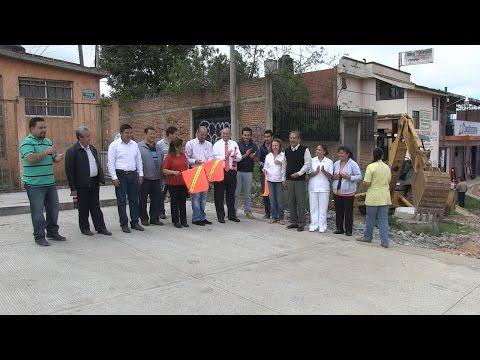 Inauguran obras en Pátzcuaro