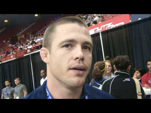 Coach Cody Sanderson talks about Cael Sanderson after Challenge Tournament Image 1