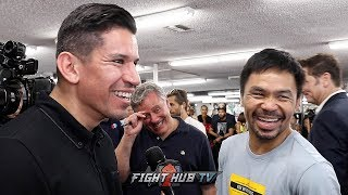 "MANNY PACQUIAO ""THE FIGHT WILL NOT LAST 12 ROUNDS; THEY THINK IM SLOWING DOWN AT AGE 40!"""