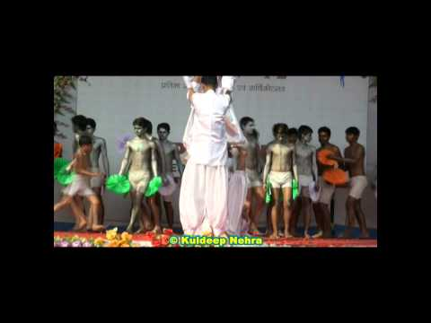 Patriotism Song Dance In ballerina - 2012 By Prince Education Hub, Sikar.(10 Of 20) video
