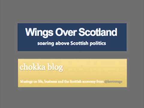 WIngs Over Scotland & Chokka blog on BBC Radio Scotland.