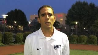 Navy Post Game Interview w/ head coach Didier Orellana