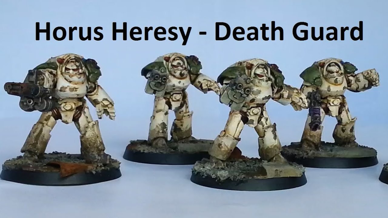Death Guard Horus Heresy Horus Heresy Death Guard