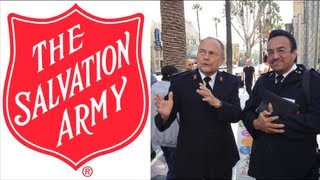 The Salvation Army Open Air Preaches in Hollywood