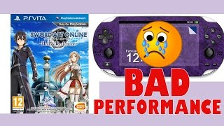 Sword Art Online: Hollow Realization PS Vita Gameplay - BAD PERFORMANCE - Thoughts / Impressions