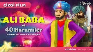 Ali Baba ve Kırk Haramiler çizgi film masal 19 - Adisebaba Çizgi Film Masallar