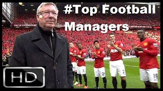 Most Successful Football Manager in Football History | Top 5 Battle